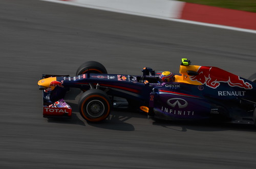 Mark Webber - RBR - 2013 Formula 1 Petronas Malaysia Grand Prix