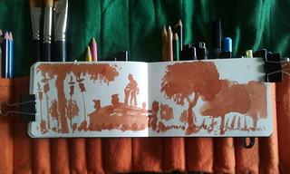 Dibujando Córdoba. Semana Santa