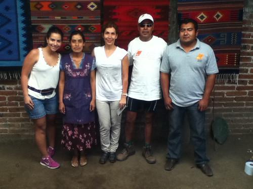 Pedro, Josefina and friends, Teotitlan del Valle @ Oaxaca 03.2013