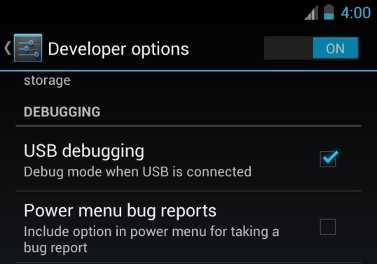 Enable-USB-Debugging
