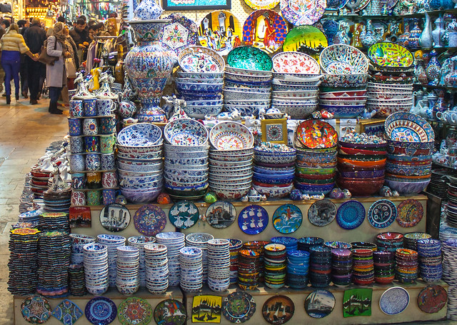 Grand Bazaar, Istanbul - Flickr CC simononly