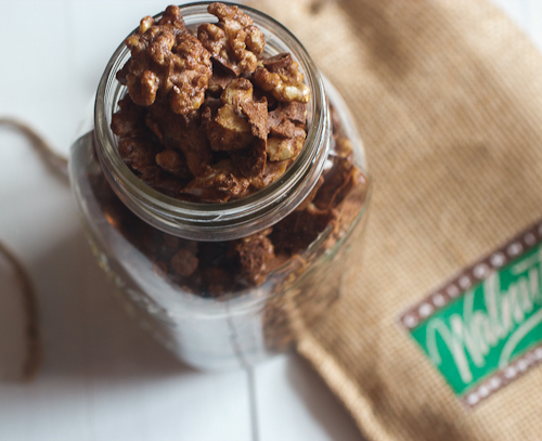 Spiced Walnuts with @CaWalnuts