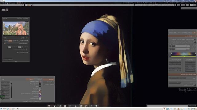 Girl with a Virtual Camera
