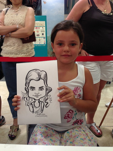 caricature live sketching for Takashimaya Good Friday Special - 22