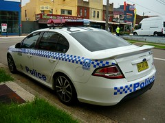 2010 Ford FG Falcon XR6 Turbo - NSW Police - FL202