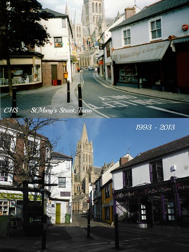 Years Apart - 1993-2013, St.Mary's Street by Stocker Images