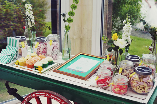Sweetie Buffet at Hafton Castle