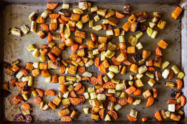 Crisp and Tender Roasted Vegetables