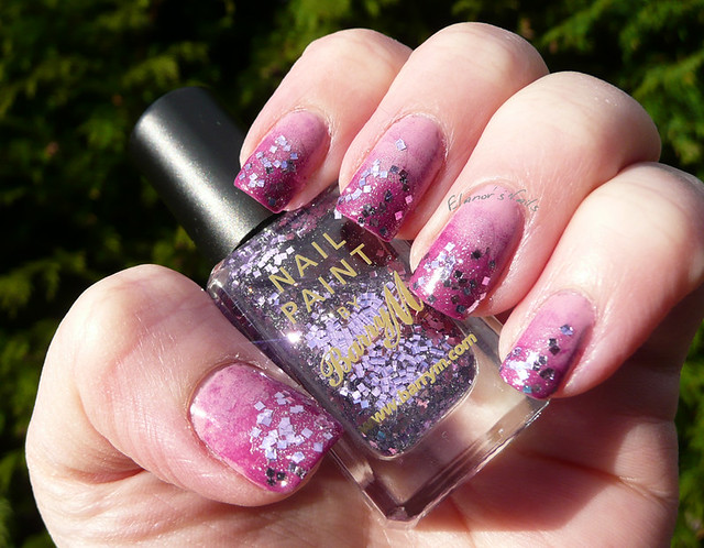 pink purple glitter gradient 2