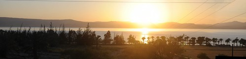 sunset panorama landscape israel galilee seaofgalilee
