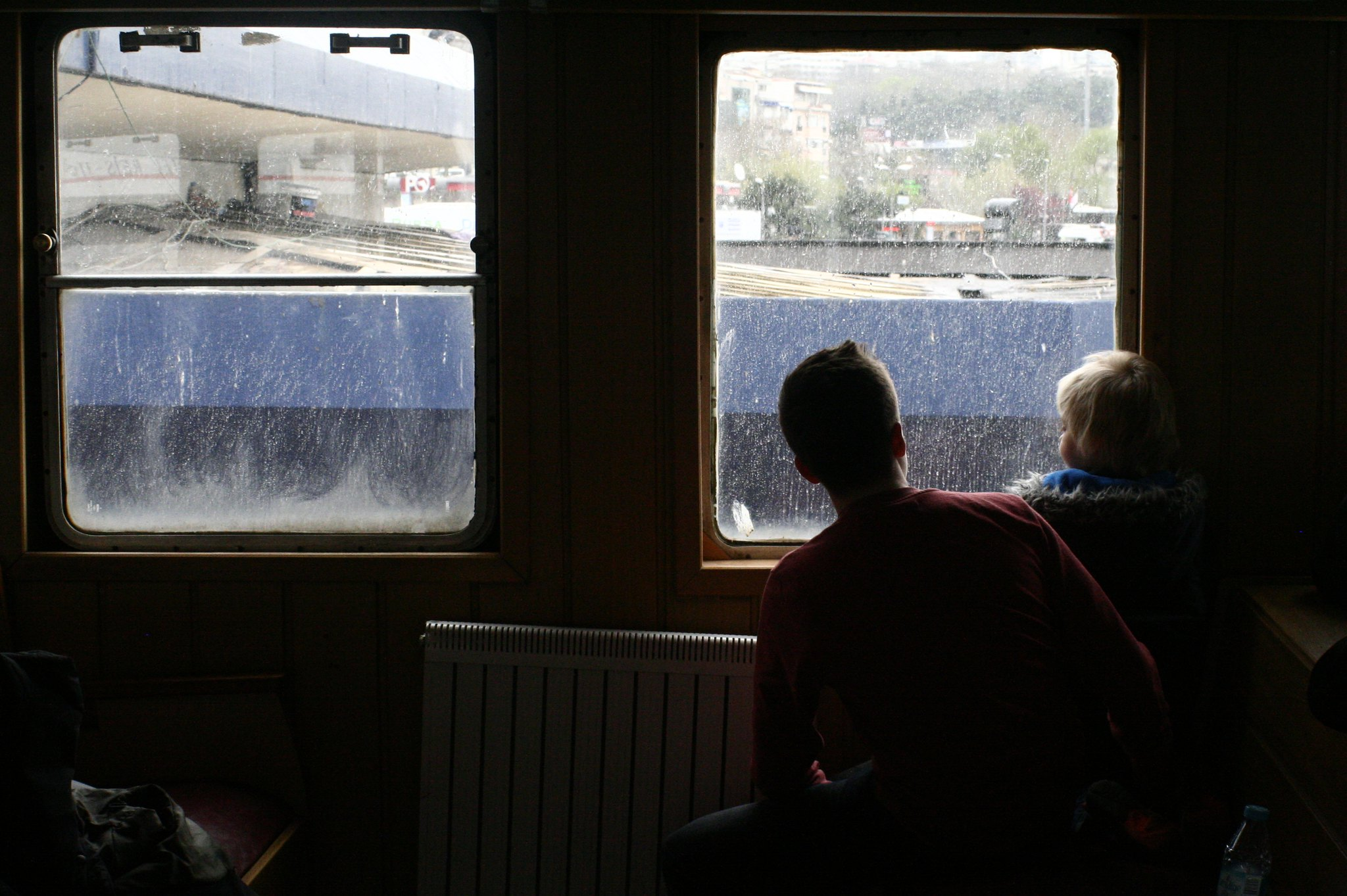 Waiting for departure at Kabataş