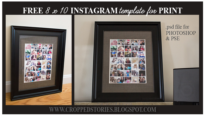 Instagrams Framed Example