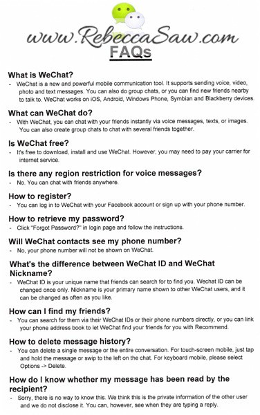 WeChat Launch in Malaysia