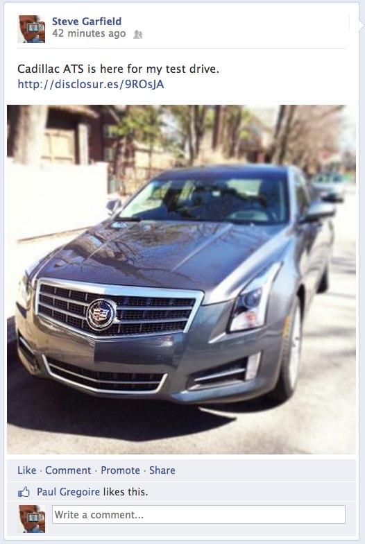 FB: Cadillac ATS