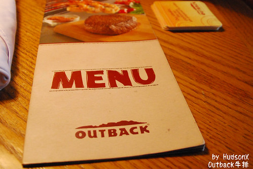 OUTBACK菜單