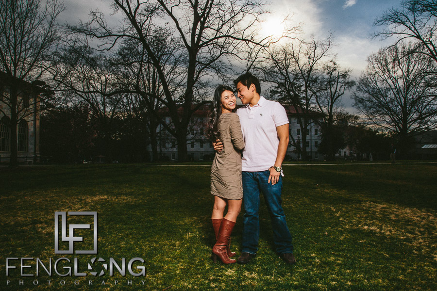 Recent work di junjian engagement session emory for Lull water