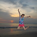 Sunset at Jimbaran Beach in Bali by joeywan