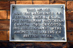 Photo of Edward Jacob grey plaque