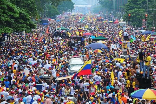 Capriles en Caracas