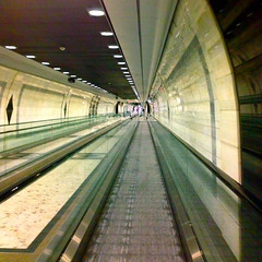 symmetry, subway, transport, escalator, infrastructure,