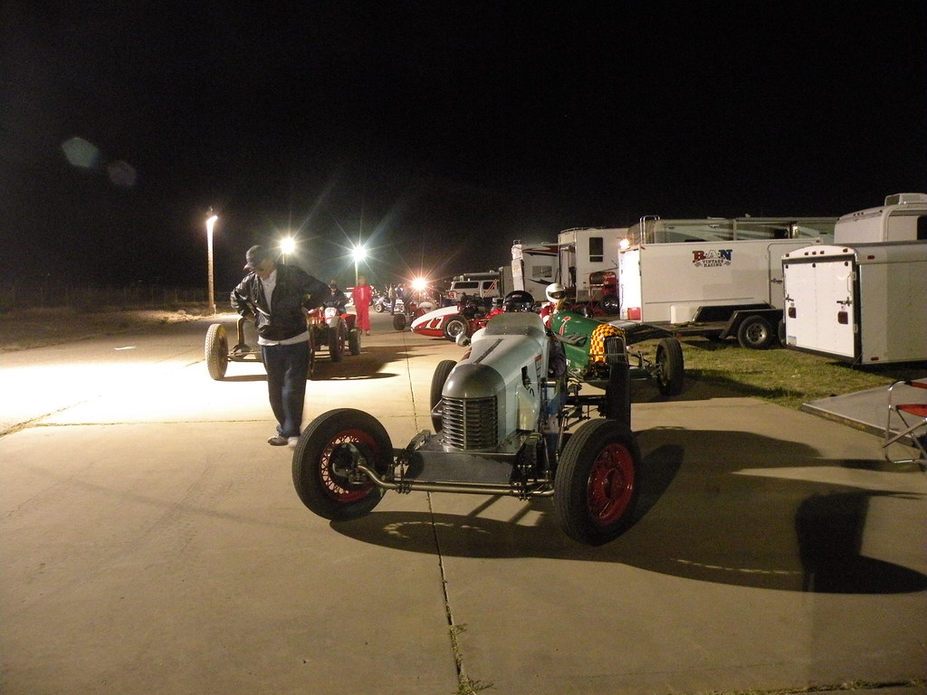 West coast vintage racers