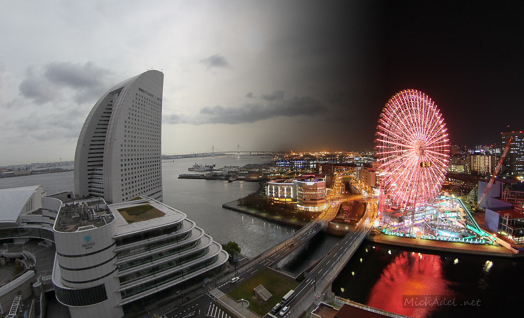Yokohama-day-to-night