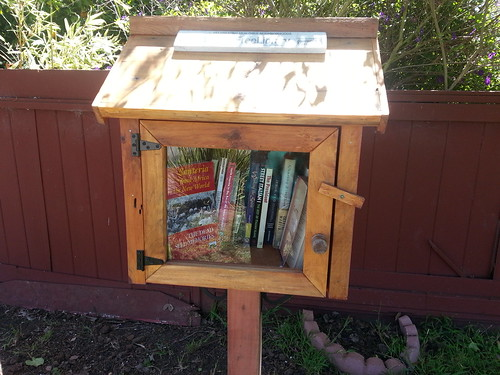 Little Free Library ready to lend! by LISgirl