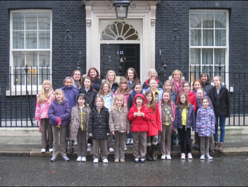 Brownies Visit to London