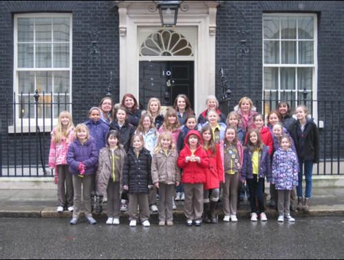 Brownies Visit to London