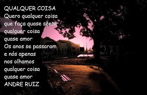 QUASE AMOR by amigos do poeta