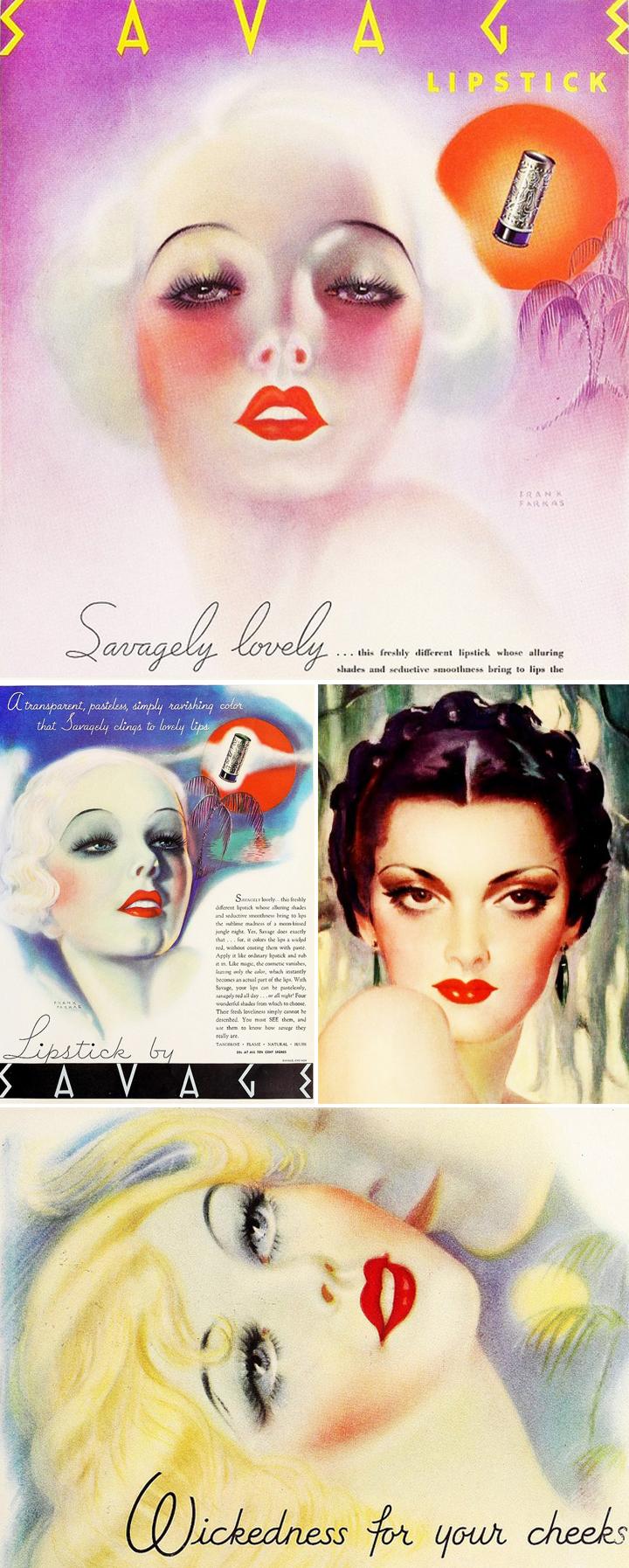1930s makeup pinterest