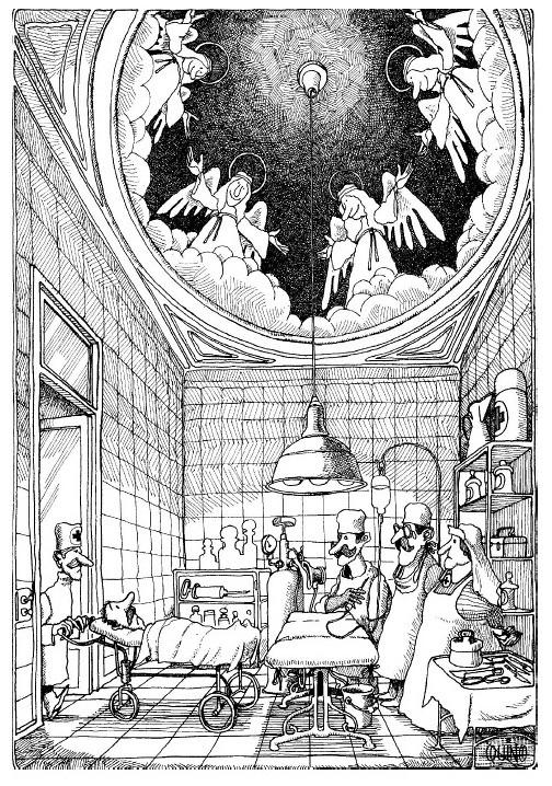 Santa Casa, por Quino