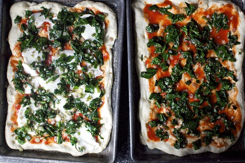 ramp pizzas, ready to bake