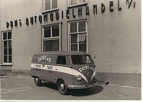 L-24644 Volkswagen Transporter bestelwagen 1950