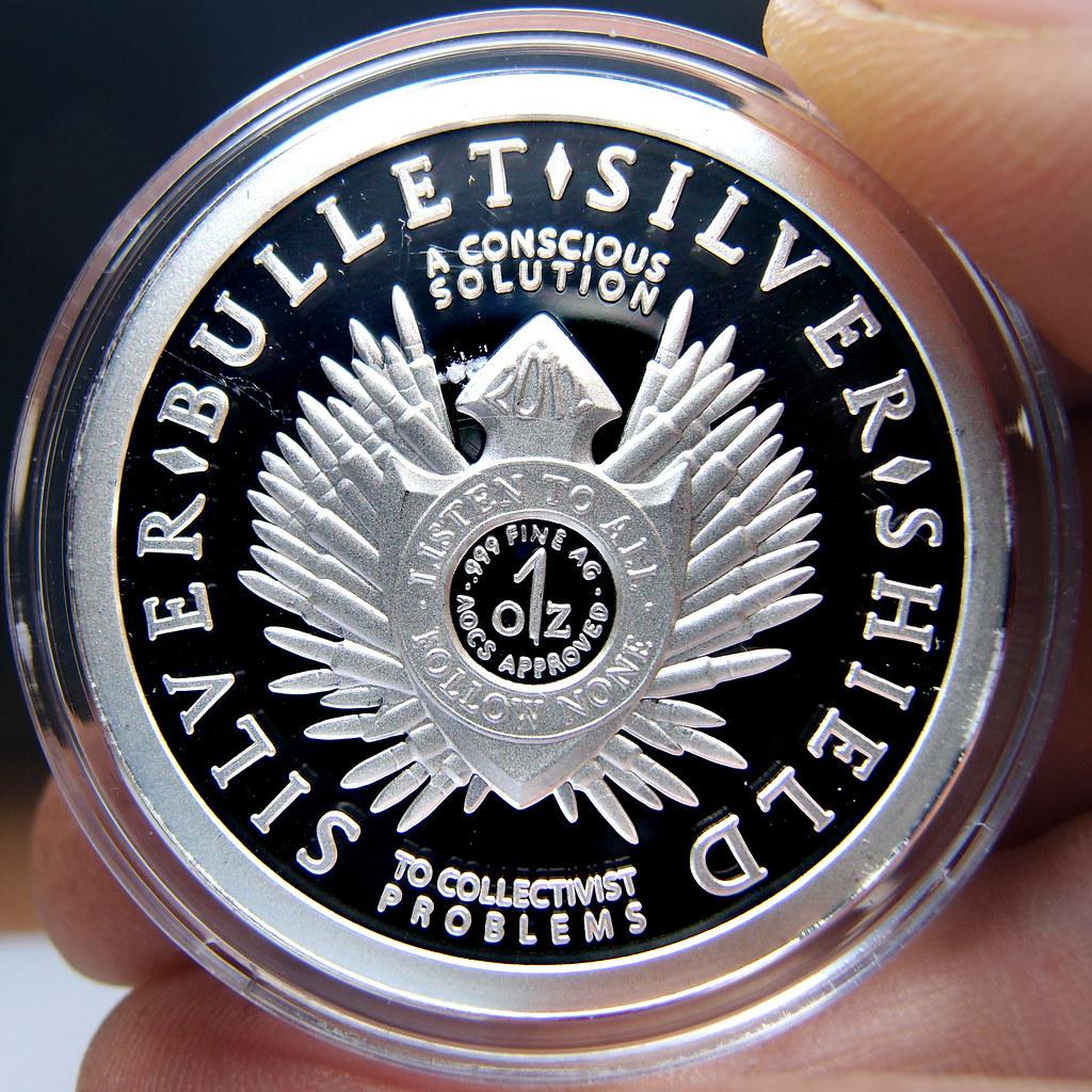"""Colección de onzas de plata """" Silver Bullets & Silver Shield"""" 10174235543_5a7595f6c1_b"""