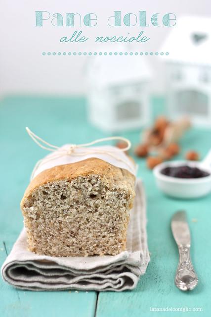 Pane dolce (vegano) alle nocciole e... vi aspetto in edicola con TuCrea!!