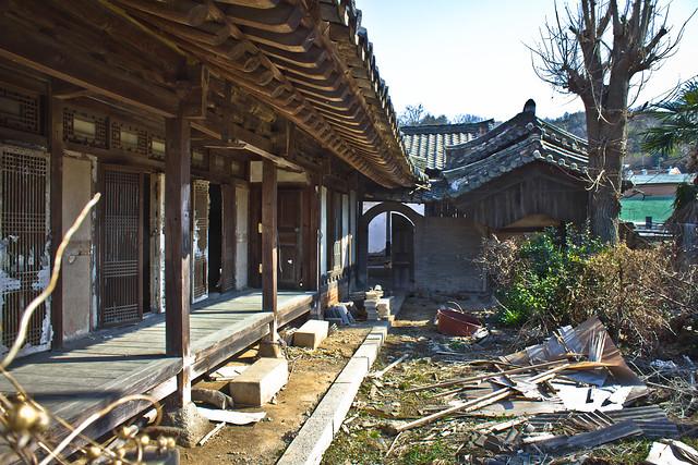 Early modern hanok estate?, Suncheon, South Korea