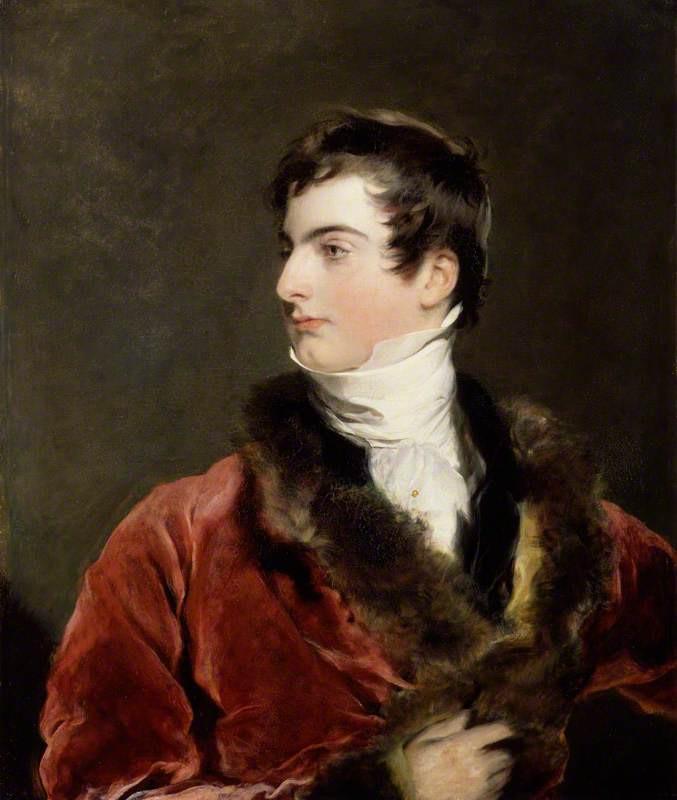 John Arthur Douglas Bloomfield, 2nd Baron Bloomfield by Thomas Lawrence, 1819