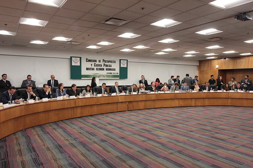 El día 20 de septiembre del 2016 se llevó a cabo en la H. Cámara de Diputados la novena reunión ordinaria de la Comisión de Presupuesto y Cuenta Pública.