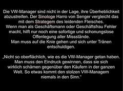 Könnte einen Ethik-Kurs organisieren #VW #Audi https://www.linkedin.com/pulse/vw-management-im-modus-der-überheblichkeit-gunnar-sohn?trk=mp-reader-card
