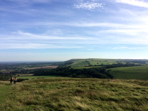September 24, 2016: Wolstonbury Hill, East Sussex
