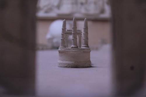 Particolare della Piazza Navona del passato