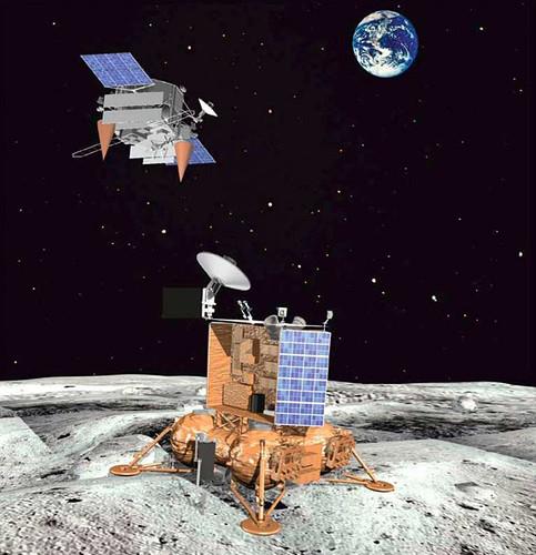 Luna - nuovo programma di esplorazione spaziale Russo