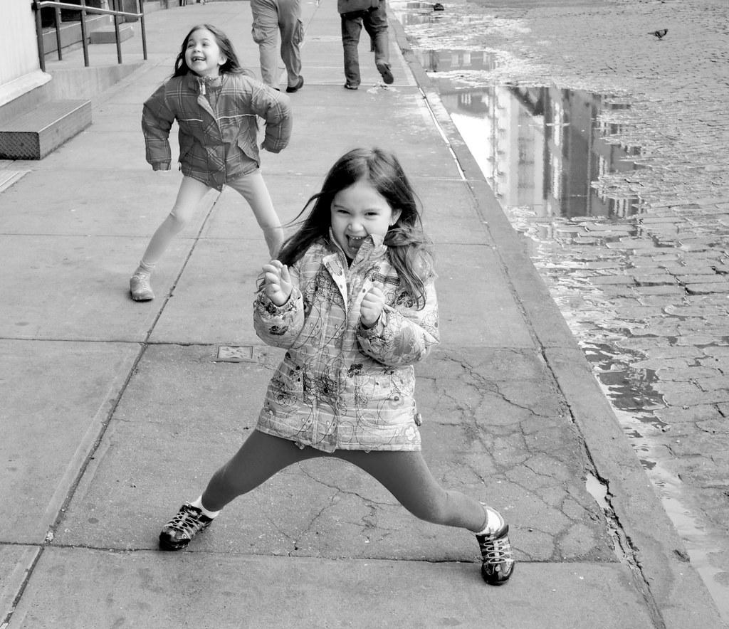 Ame-Nick-street-walking-fun-BW