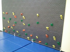 Indoor Climbing wall for Preschool