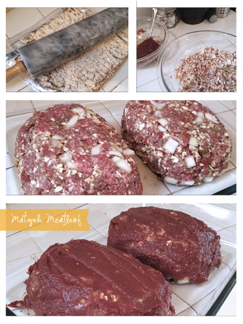 Passover-Friendly Matzoh Meatloaf