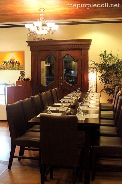Dining at Primero Casa Filipino