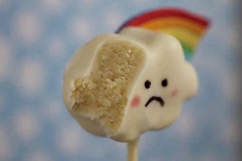 sad cake pop