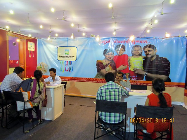 Laxmi Ramana Group - Maharashtra Times Pune Property Show April 2013