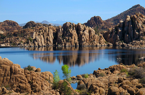 arizona landscapes rocks lakes